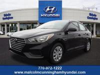 This Absolute Black 2019 Hyundai Accent SE might be