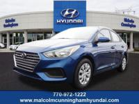This Admiral Blue 2019 Hyundai Accent SE might be just