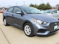 Urban Gray 2019 Hyundai Accent SE FWD 6-Speed Automatic
