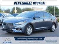 Urban Gray Metallic 2019 Hyundai Accent SEL FWD