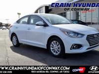 Frost White 2019 Hyundai Accent SEL FWD Automatic 1.6L