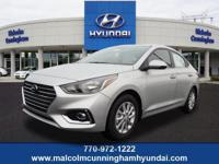 This SILVER SEL 2019 Hyundai Accent SE might be just