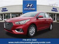 This RED SEL 2019 Hyundai Accent SEL might be just the