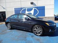 We are excited to offer this 2019 Hyundai Elantra. The