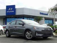 Gray 2019 Hyundai Elantra Value Edition FWD 6-Speed