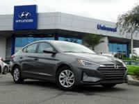 Gray 2019 Hyundai Elantra SE FWD 6-Speed Automatic with
