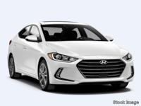 2019 Hyundai Elantra Limited FWD 6-Speed Automatic with