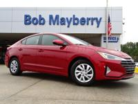 New Price! Scarlet Red 2019 Hyundai Elantra SE FWD
