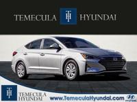 Silver 2019 Hyundai Elantra SE  Options:  Wheels: 15 X