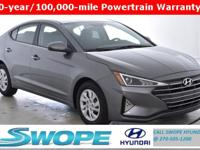 Recent Arrival! This 2019 Hyundai Elantra SE in Machine