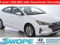 Recent Arrival! This 2019 Hyundai Elantra Value Edition