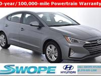 Recent Arrival! New Price! This 2019 Hyundai Elantra