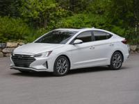 Scarlet Red 2019 Hyundai Elantra SEL FWD 6-Speed