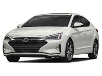 Boasts 38 Highway MPG and 29 City MPG! This Hyundai