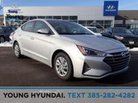 New Price! Silver 2019 Hyundai Elantra SE FWD 6-Speed