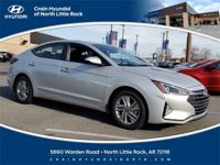 2019 Hyundai Elantra SEL FWD 6-Speed Automatic with