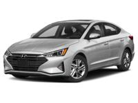 Silver 2019 Hyundai Elantra Limited FWD 6-Speed
