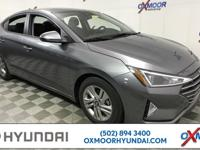 2019 Hyundai Elantra Value Edition 37/28 Highway/City