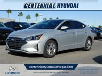 Silver 2019 Hyundai Elantra Value Edition FWD 6-Speed