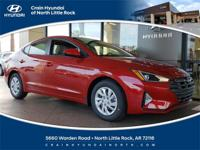 2019 Hyundai Elantra SE FWD 6-Speed Automatic with