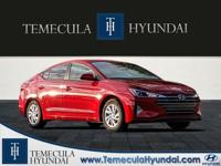 Scarlet Red 2019 Hyundai Elantra SE  Options:  Wheels: