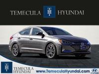 Machine Gray 2019 Hyundai Elantra Limited  Options: