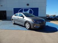We are excited to offer this 2019 Hyundai Elantra.