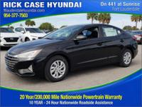 Recent Arrival! $1,106 off MSRP! Black 2019 Hyundai