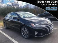 2019 Hyundai Elantra Limited 37/28 Highway/City MPG