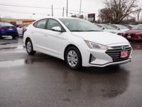 2019 Hyundai Elantra SE$2,378 off MSRP! Quartz White