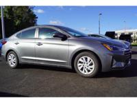 This 2019 Hyundai Elantra SE is complete with