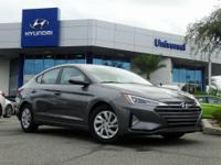 Machine Gray 2019 Hyundai Elantra SE FWD Automatic