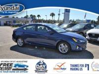 Elantra SEL with floor mats and cargo net. Every new