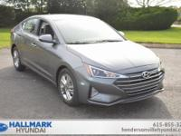 Machine Gray 2019 Hyundai Elantra SEL FWD Automatic