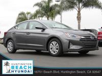 2019 Hyundai Elantra 4D Sedan Machine Gray 2.0L