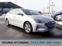 New Price! Silver 2019 Hyundai Elantra FWD 6-Speed