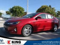 28/37 City/Highway MPG King Hyundai is pleased to offer