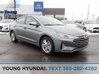 New Price! Gray 2019 Hyundai Elantra FWD 6-Speed