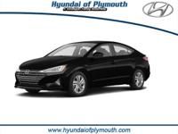 $864 off MSRP! Phantom Black 2019 Hyundai Elantra SEL