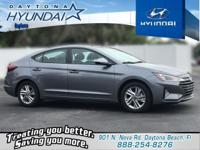 Gray 2019 Hyundai Elantra SEL FWD 6-Speed Automatic