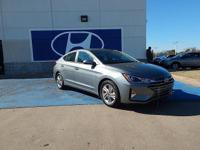 We are excited to offer this 2019 Hyundai Elantra. You