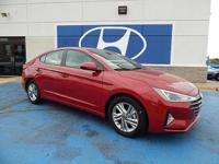 We are excited to offer this 2019 Hyundai Elantra. Just