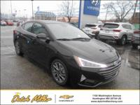 2019 Hyundai Elantra Limited 28/37 City/Highway MPG