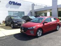 Pear 2019 Hyundai Ioniq Hybrid Blue FWD 6-Speed 1.6L I4