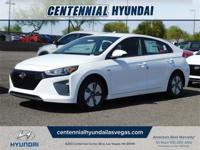 White 2019 Hyundai Ioniq Hybrid Blue FWD 6-Speed 1.6L