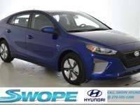 Recent Arrival! This 2019 Hyundai Ioniq Hybrid Blue in