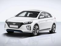 2019 Hyundai Ioniq Hybrid Blue Ceramic White 6-Speed