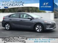 Summit White 2019 Hyundai Ioniq Hybrid Blue FWD 6-Speed