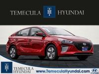 Scarlet Red 2019 Hyundai Ioniq Hybrid Blue Price