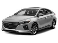Scores 59 Highway MPG and 57 City MPG! This Hyundai